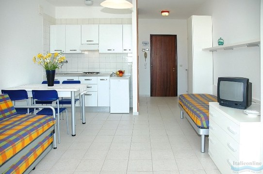 Residence luna lignano sabbiadoro taliansko ck italieonline for Appartamenti lignano