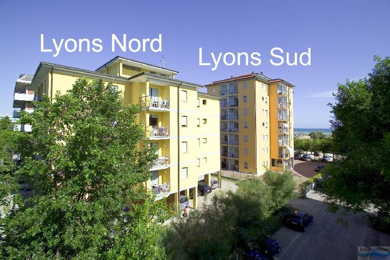Apartmány Lyons Nord e Sud Bibione
