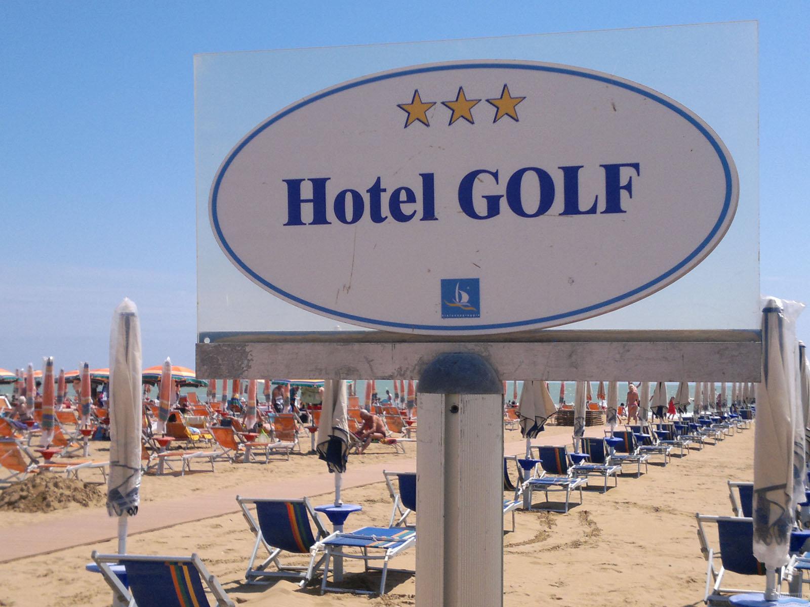 Hotel Golf Bibione Italien