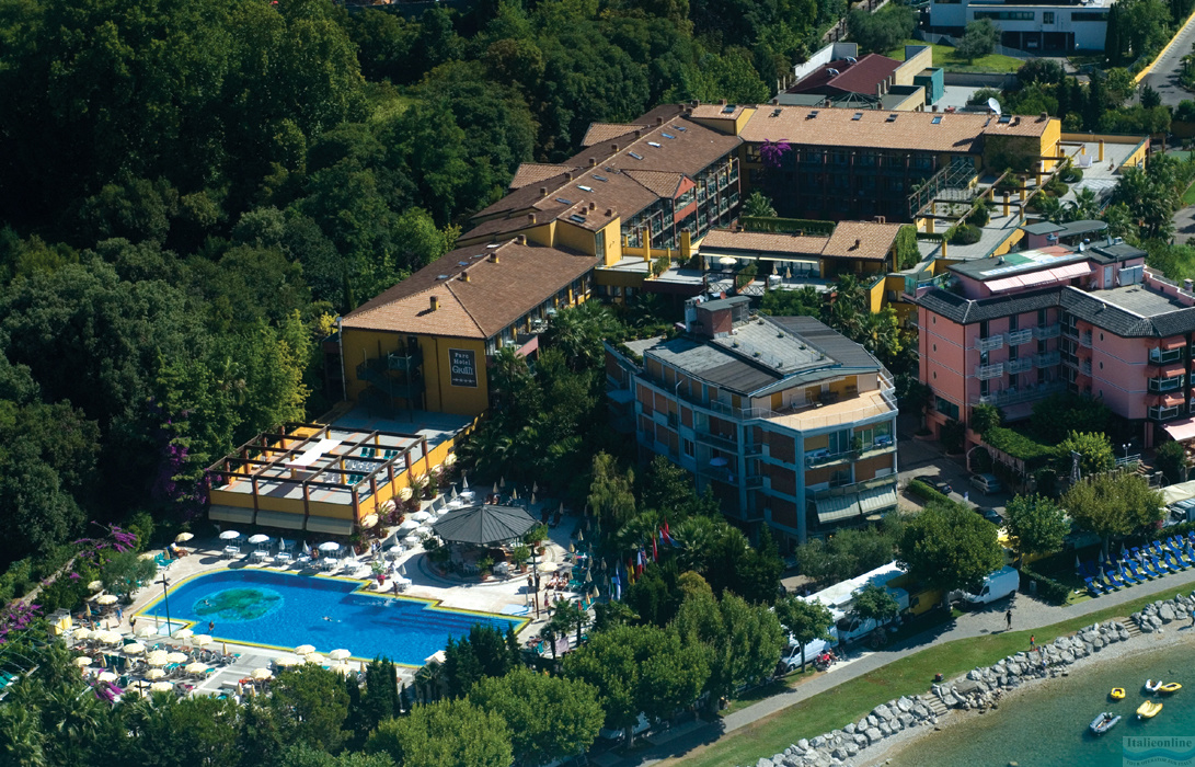 Parc Hotel Gritti Lake Garda Bardolino Italy Italieonline