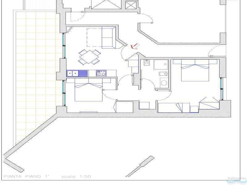 Residence sky lignano sabbiadoro italien italieonline for Appartamenti lignano