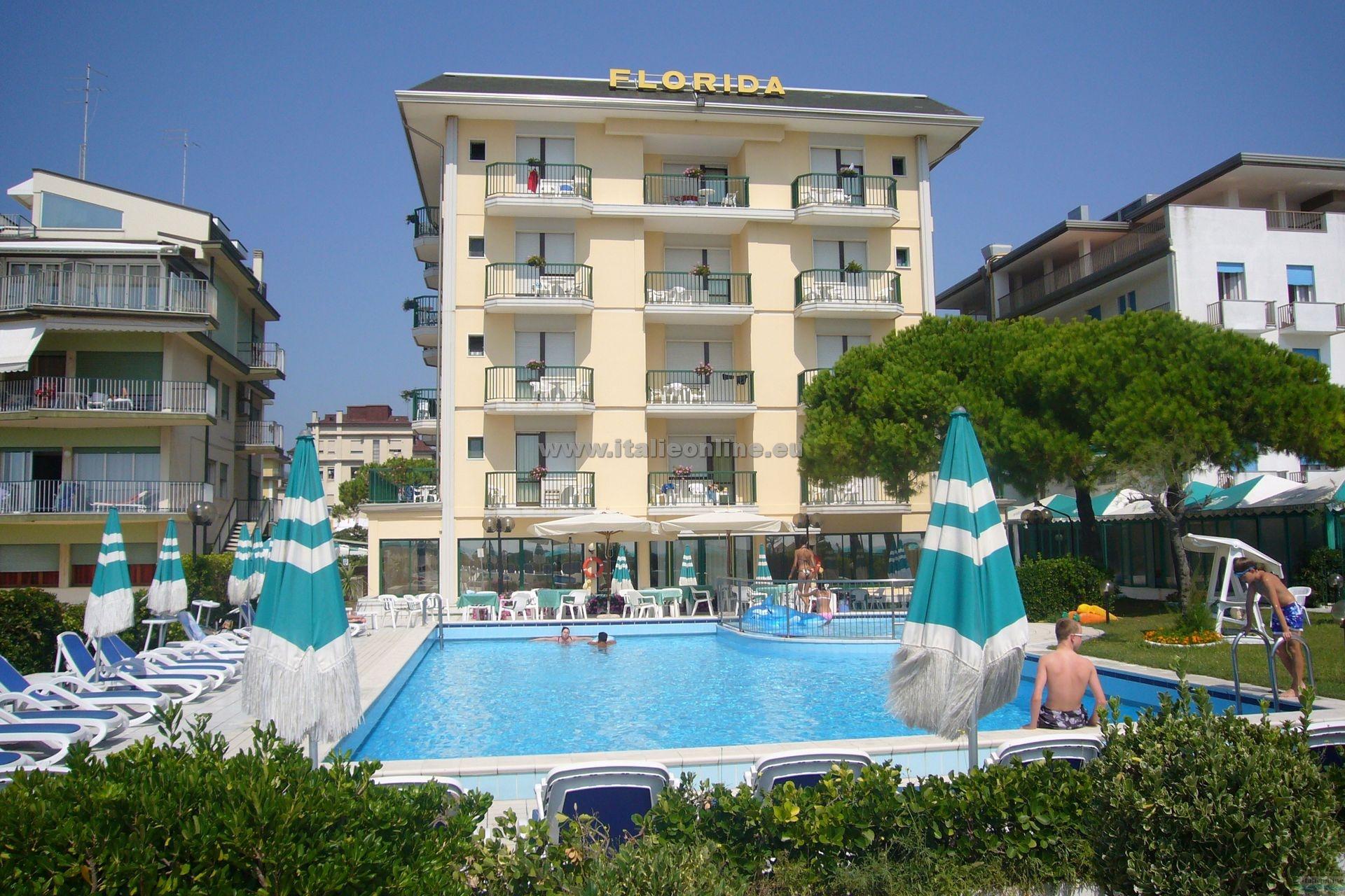 Hotel Florida Lido di Jesolo ovest Italien Italieonline