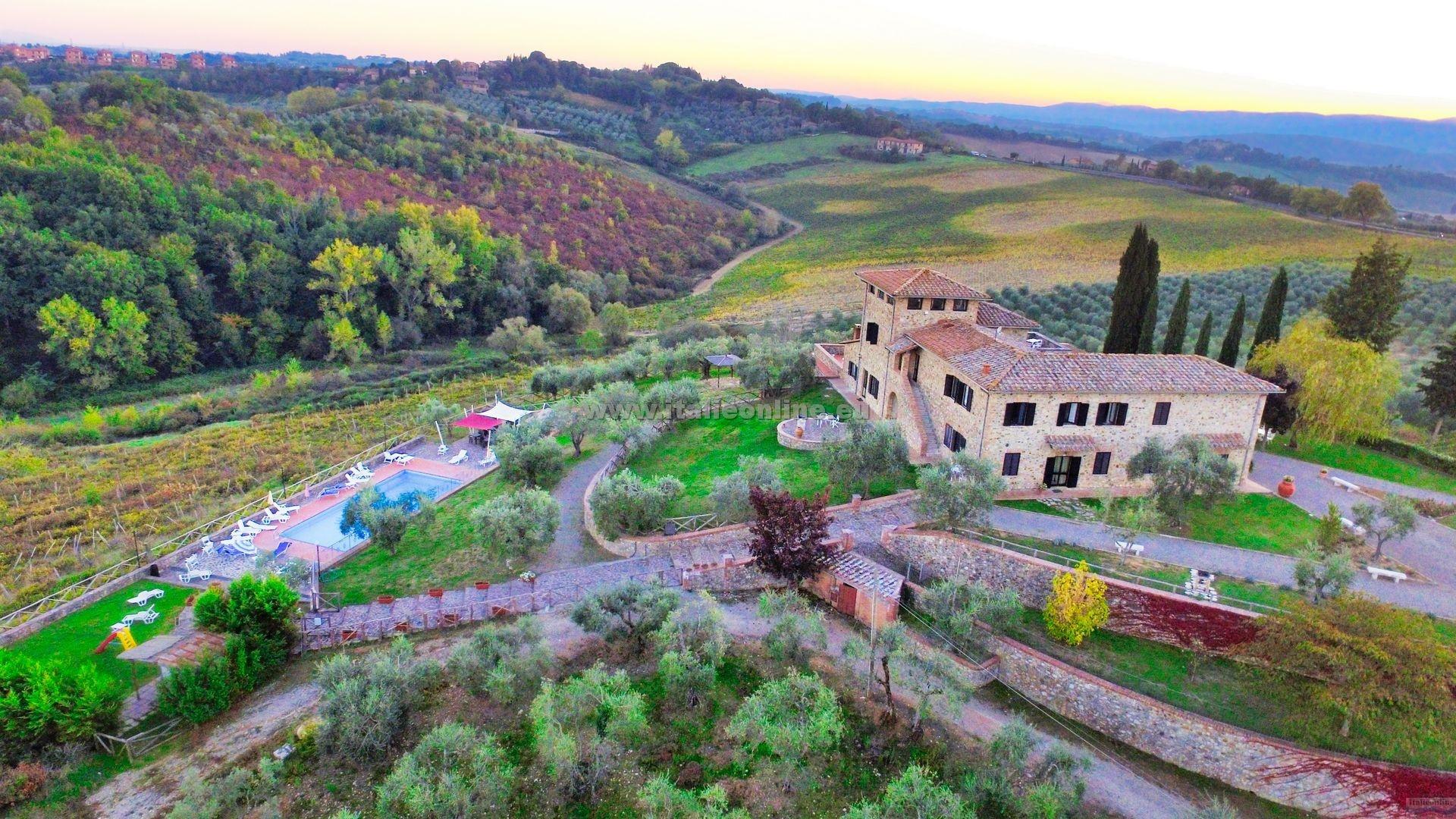 La Loggia Villa Gloria Siena Italia Italieonline