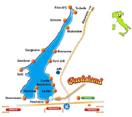 Forlystelsespark Gardaland Italieonline