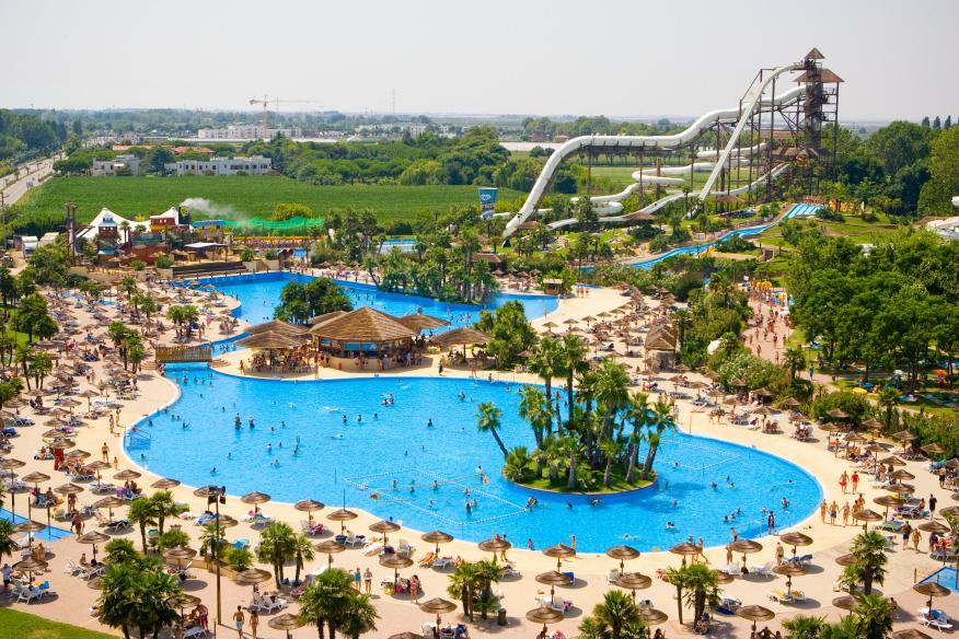 Aquapark w lido di jesolo bp italieonline - Villaggi con piscine e scivoli ...